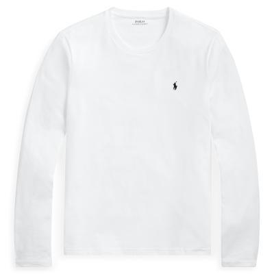 Ralph Lauren Basic T-shirt lange mouw
