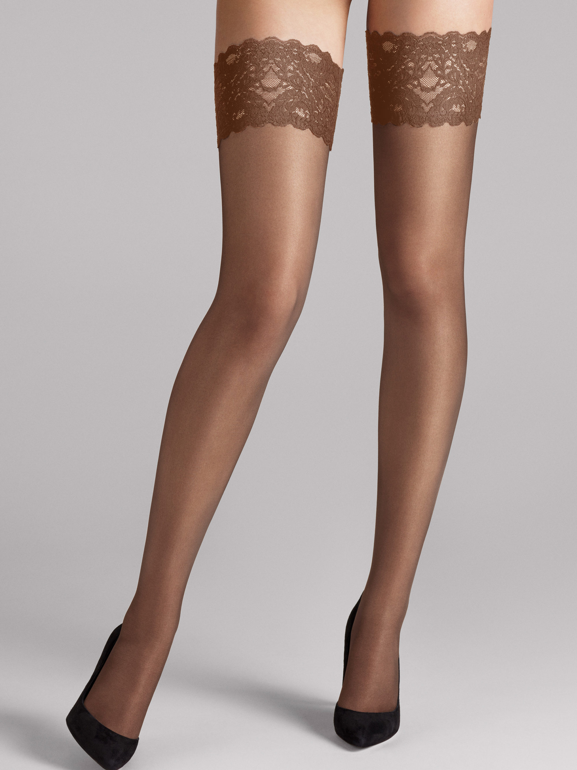 Wolford 21223 Satin touch stay-up