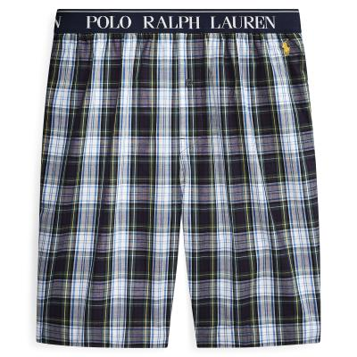 Polo Pyjamabroek Short, Geruit