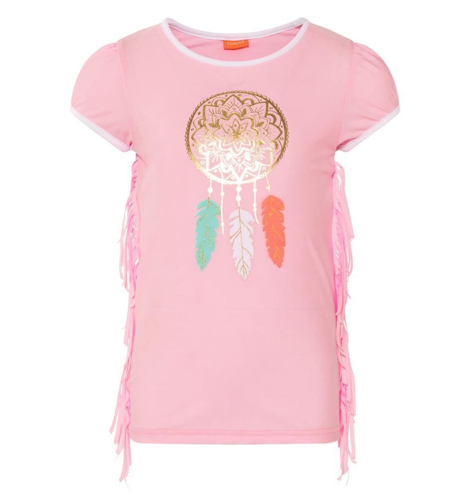Sunuva T-Shirt Gold Feather
