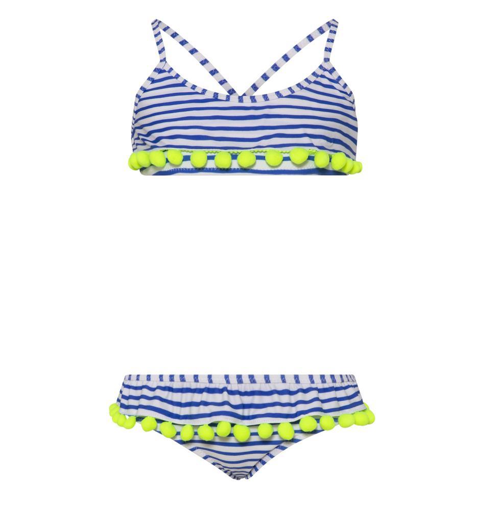 Sunuva Bikini Set Pompon Frill