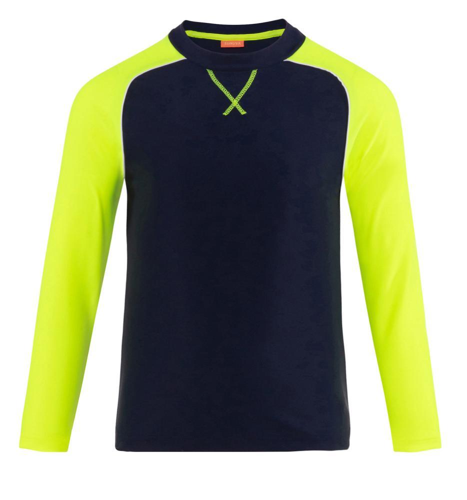 Sunuva Jongens T-Shirt LS, Fluo Mouwen
