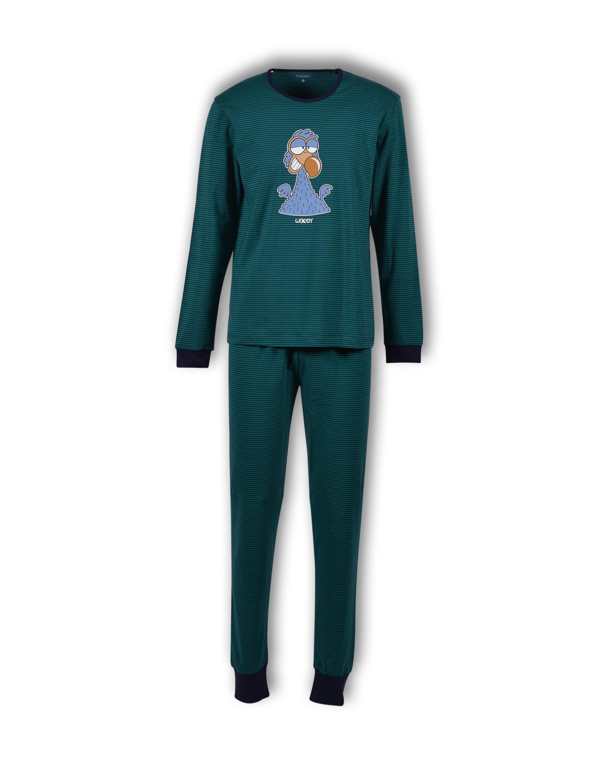 Woody Unisex Pyjama, Gestreept, Dodo