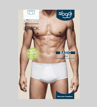 Sloggi Heren Basic Maxi 2-pack