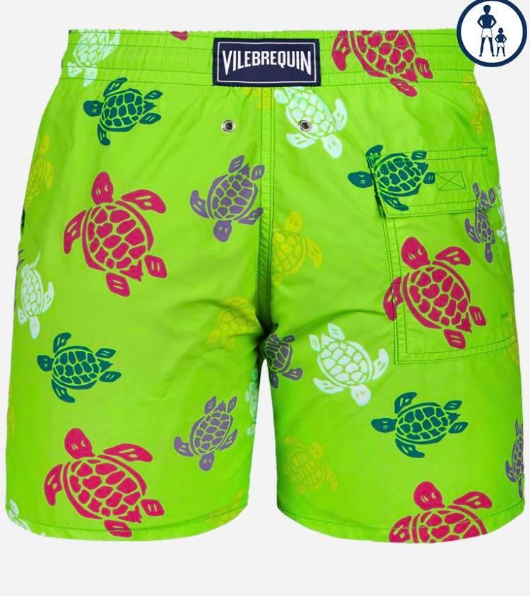 Vilebrequin Zwemshort Heren Schildpadden