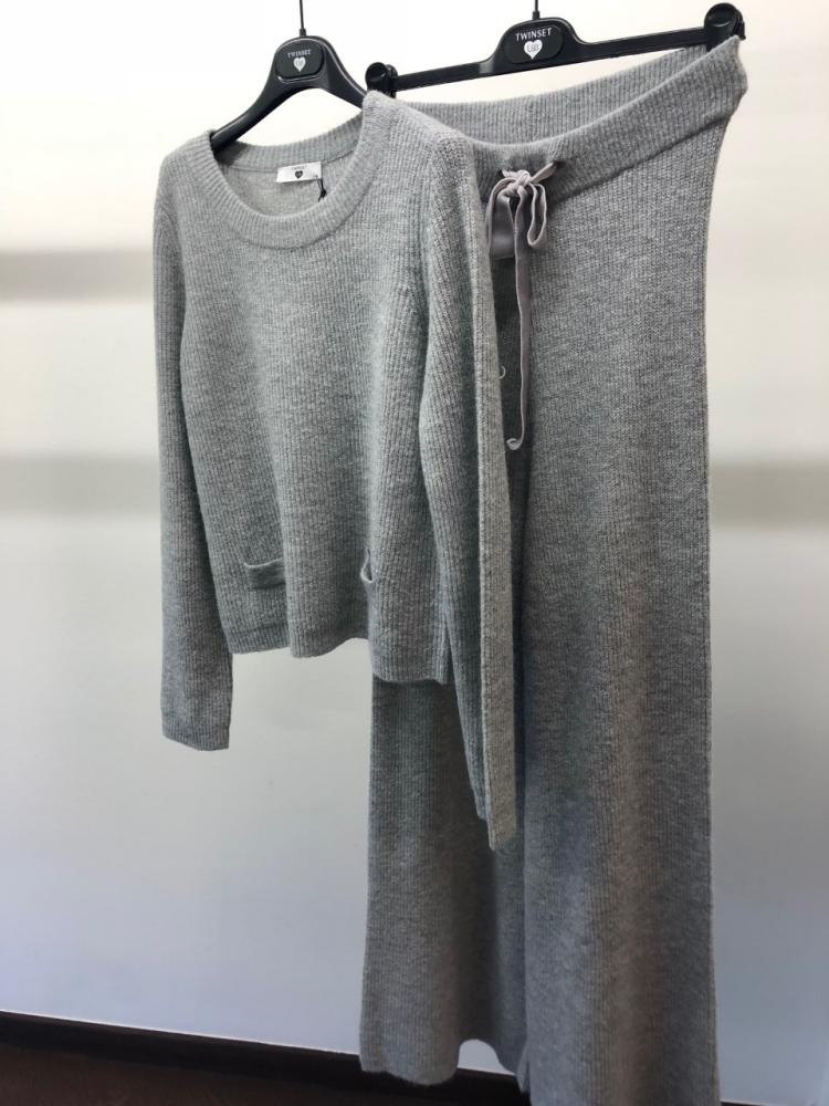 Twin-Set Gebreid ensemble (pull+broek)