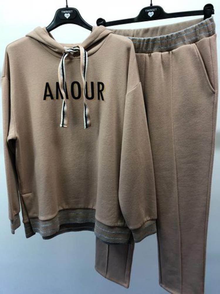 Twin-Set Jogging (sweater met kap + broek)