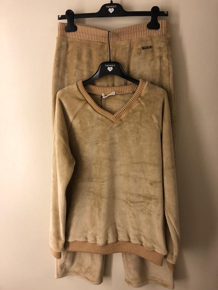 Twin-Set Sweater + broek teddy