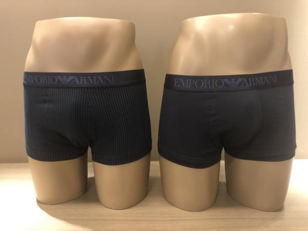 Armani 2-Pack Boxer Effen+Streepjes