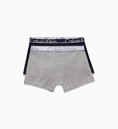 Calvin Klein 2-Pack Boxer Jongen, Effen