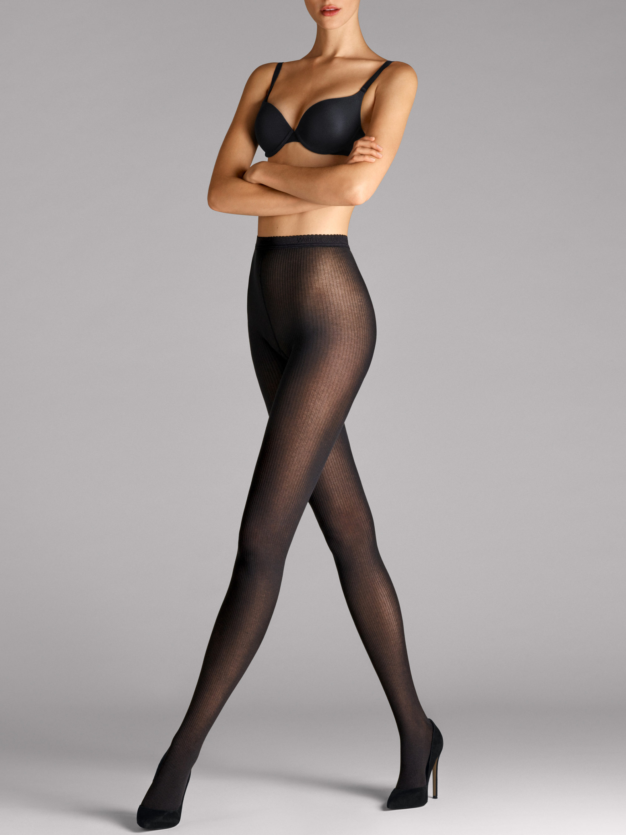 Wolford Superfine Cotten Rib tights