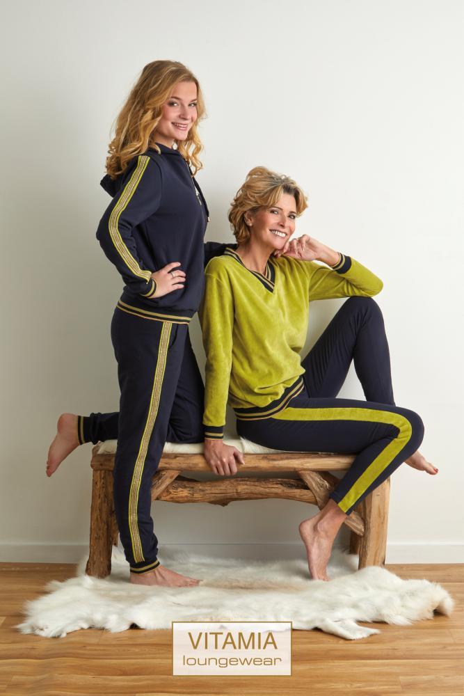 Vitamia Homewear V-Hals