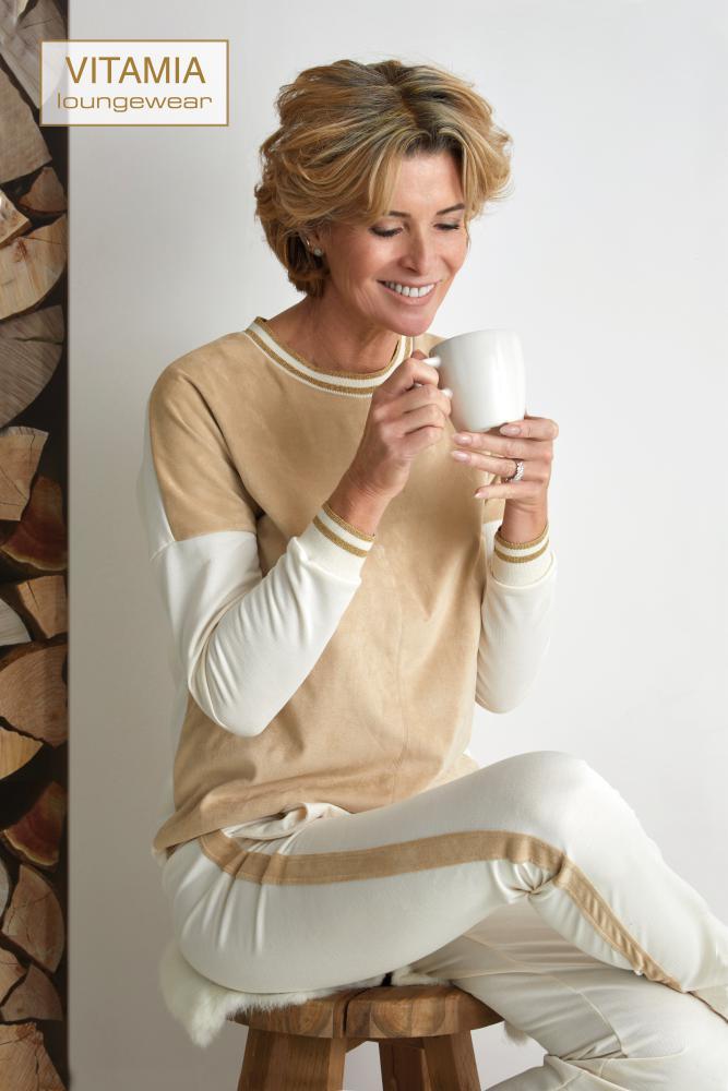 Vitamia Sweater daim + broek