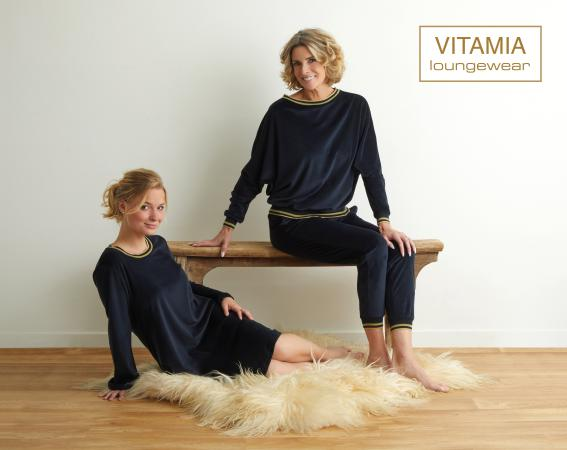 Vitamia Kleedje velour