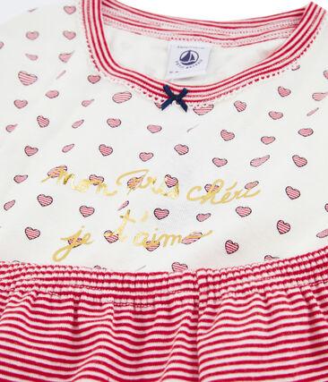 PB Pyjama court hartjes + strepen
