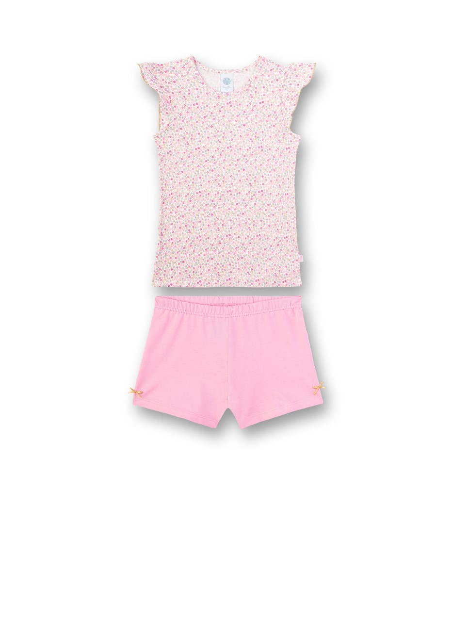 Sanetta Pyjama-short bloemetjes