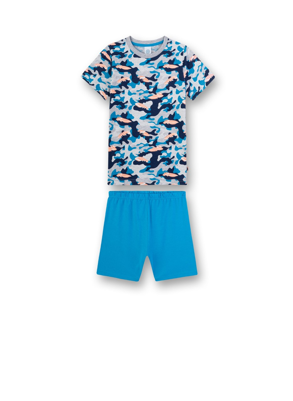 Sanetta Pyjama-short camouflage