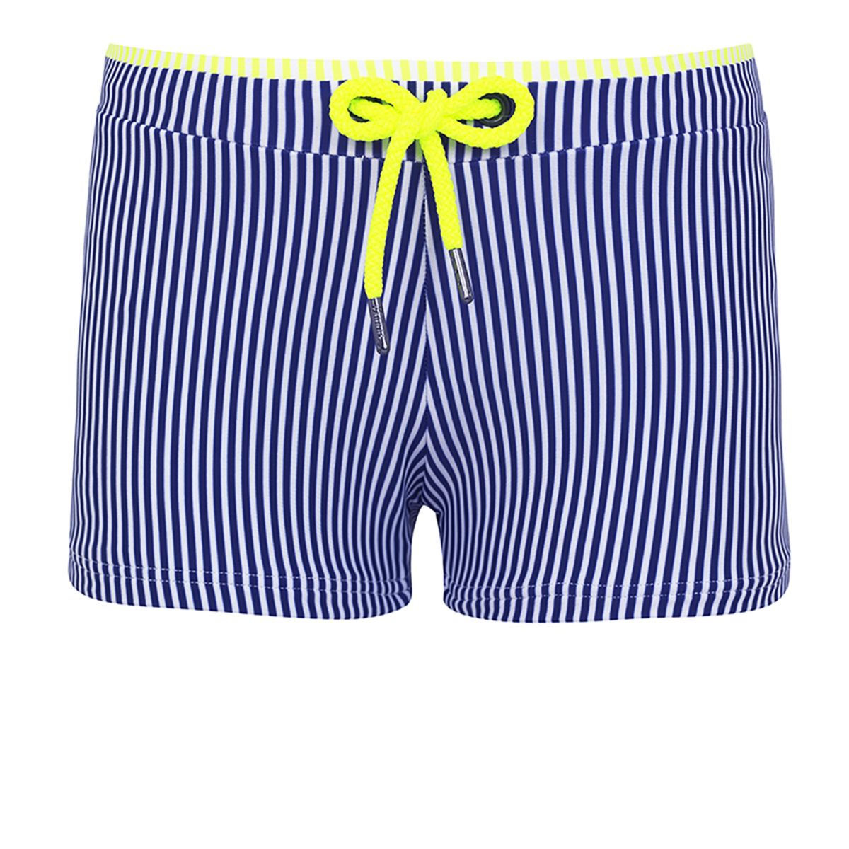 Sunuva Boys navy stripe swim trunk