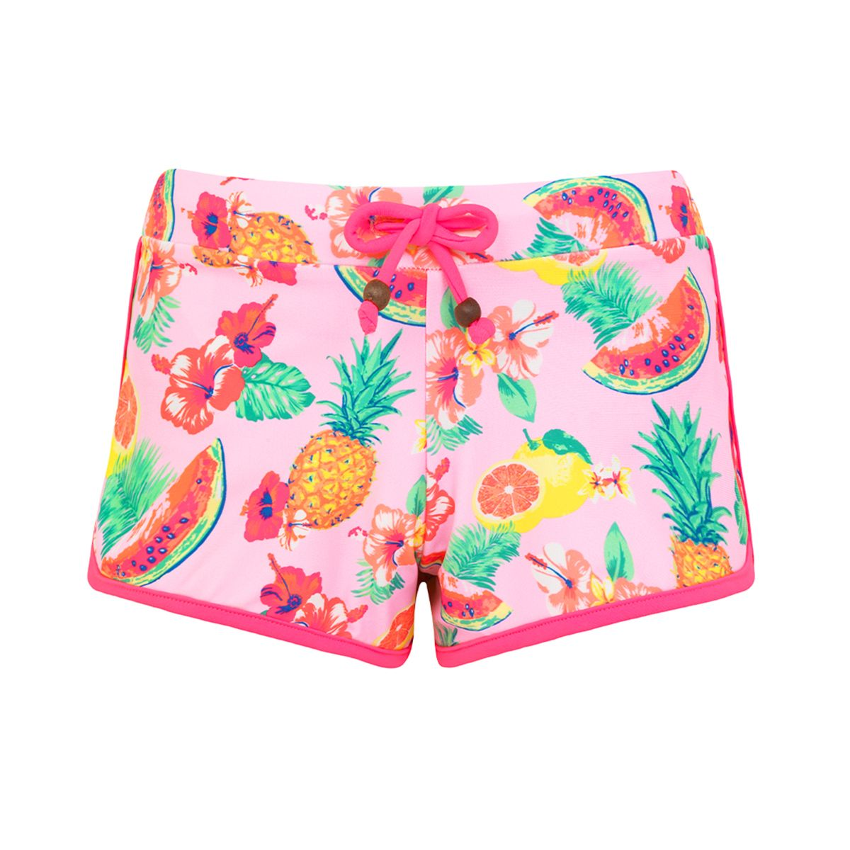 Sunuva Girls pink aloha shortje