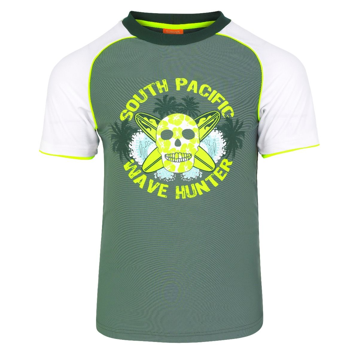 Sunuva Boys kakhi surf skill UV-shirt