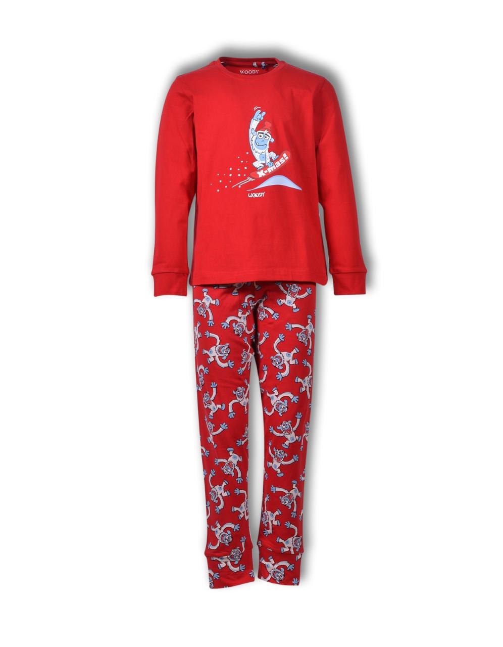 Woody pyjama unisex kerst