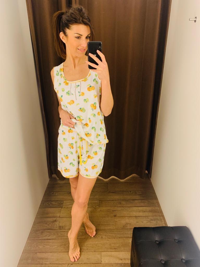 Jaloe Lemon Pyjama-short
