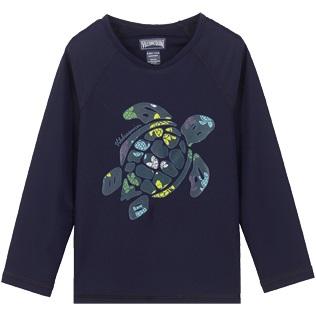 Vilebrequin UV Shirt Lange Mouw, Schildpad