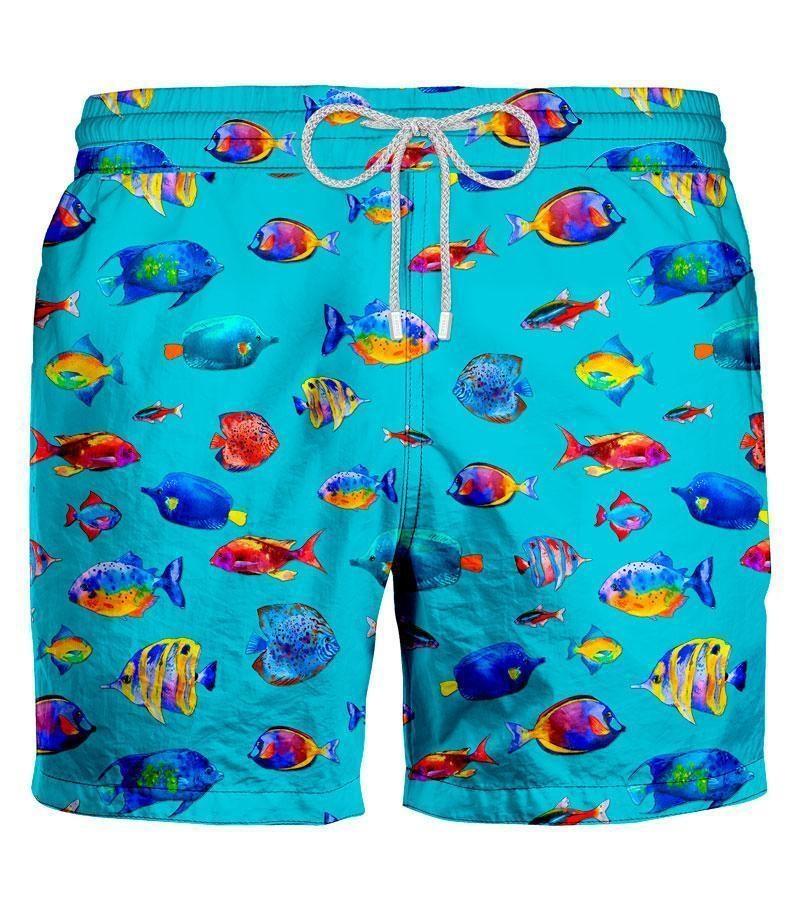 Zeybra Zwemshort Vissen