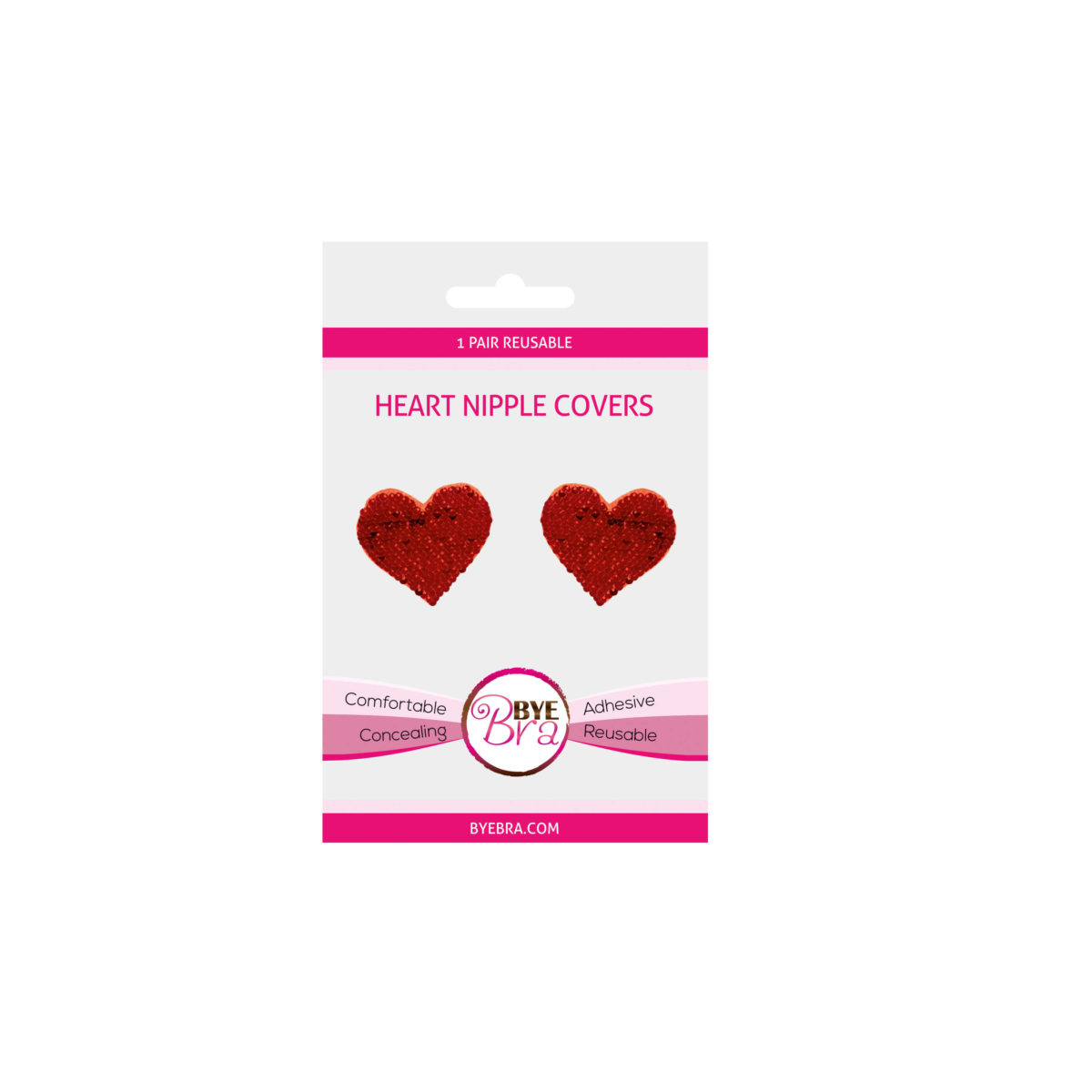 Byebra Heart nipple covers