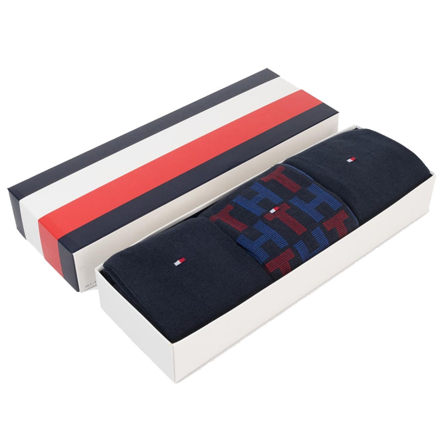 TH Socks Men Mixed Stripes 3-Pack Giftbox