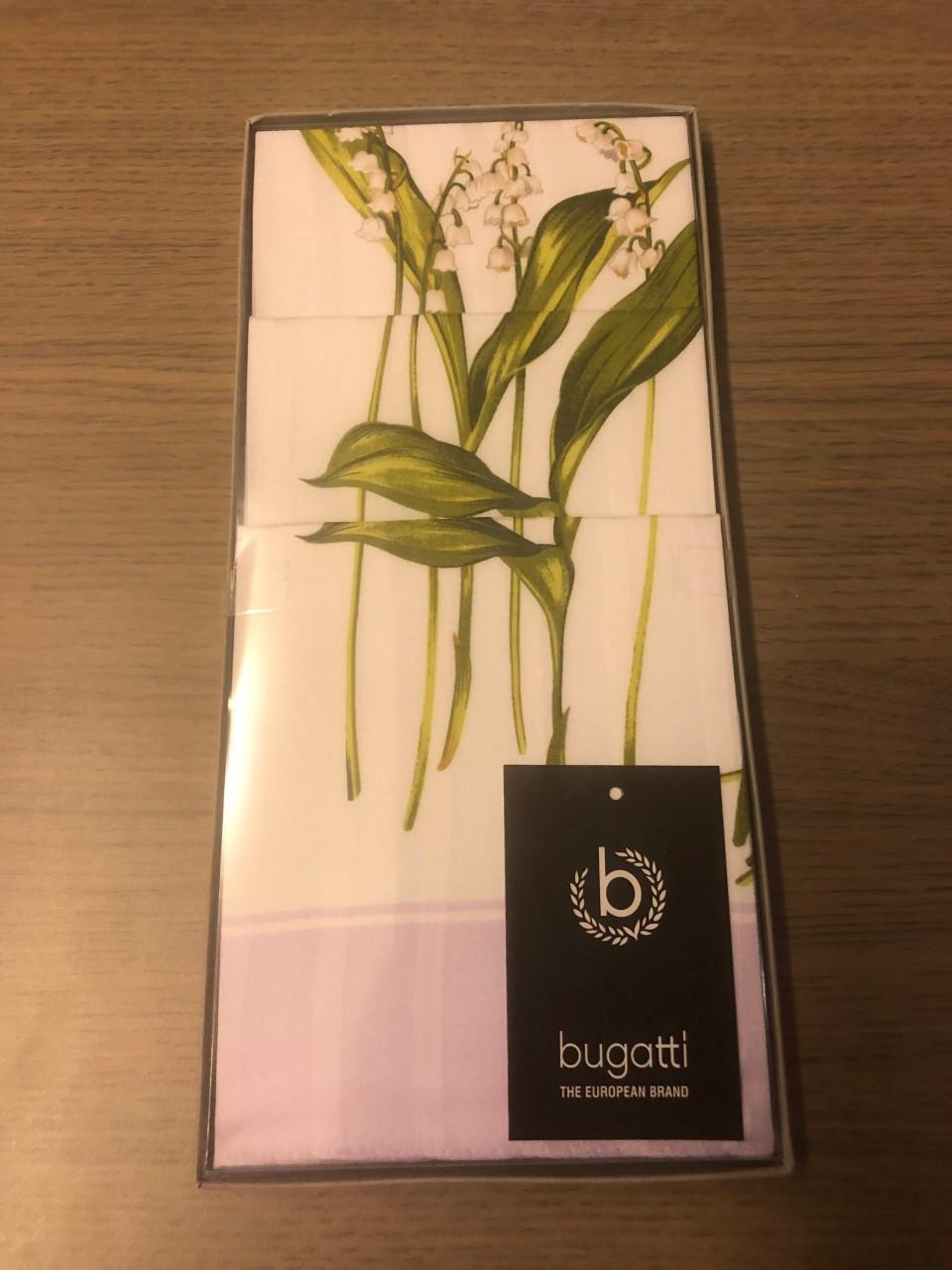 Bugatti Zakdoeken dames 3-pack meiklokjes