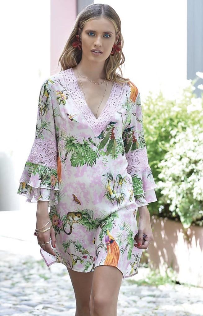 Chiara Fiorini Kleedje bloemen