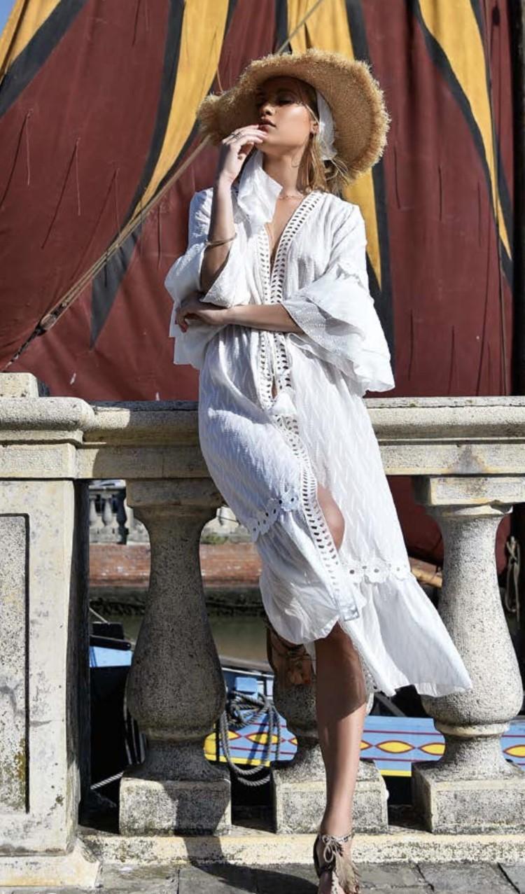 Chiara Fiorini Kimono lang
