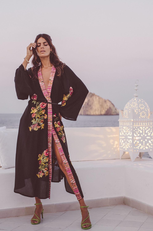 Anjuna Jade Kimono zijde
