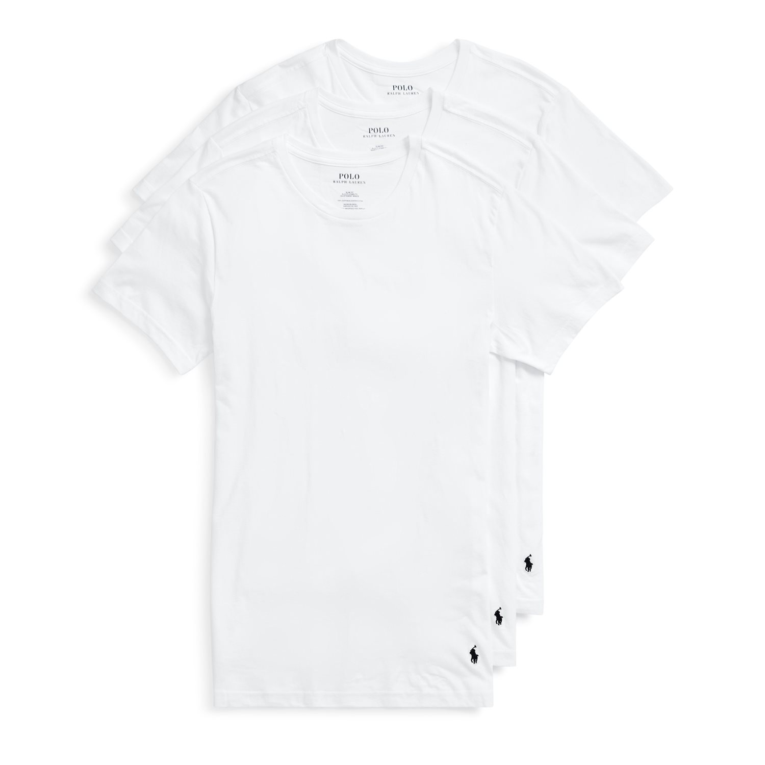 Ralph Lauren Crew T-shirt 3-pack