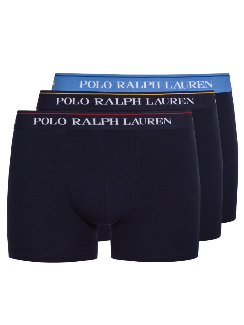 Ralph Lauren Trunk Stretch Cotton 3-Pack, Effen