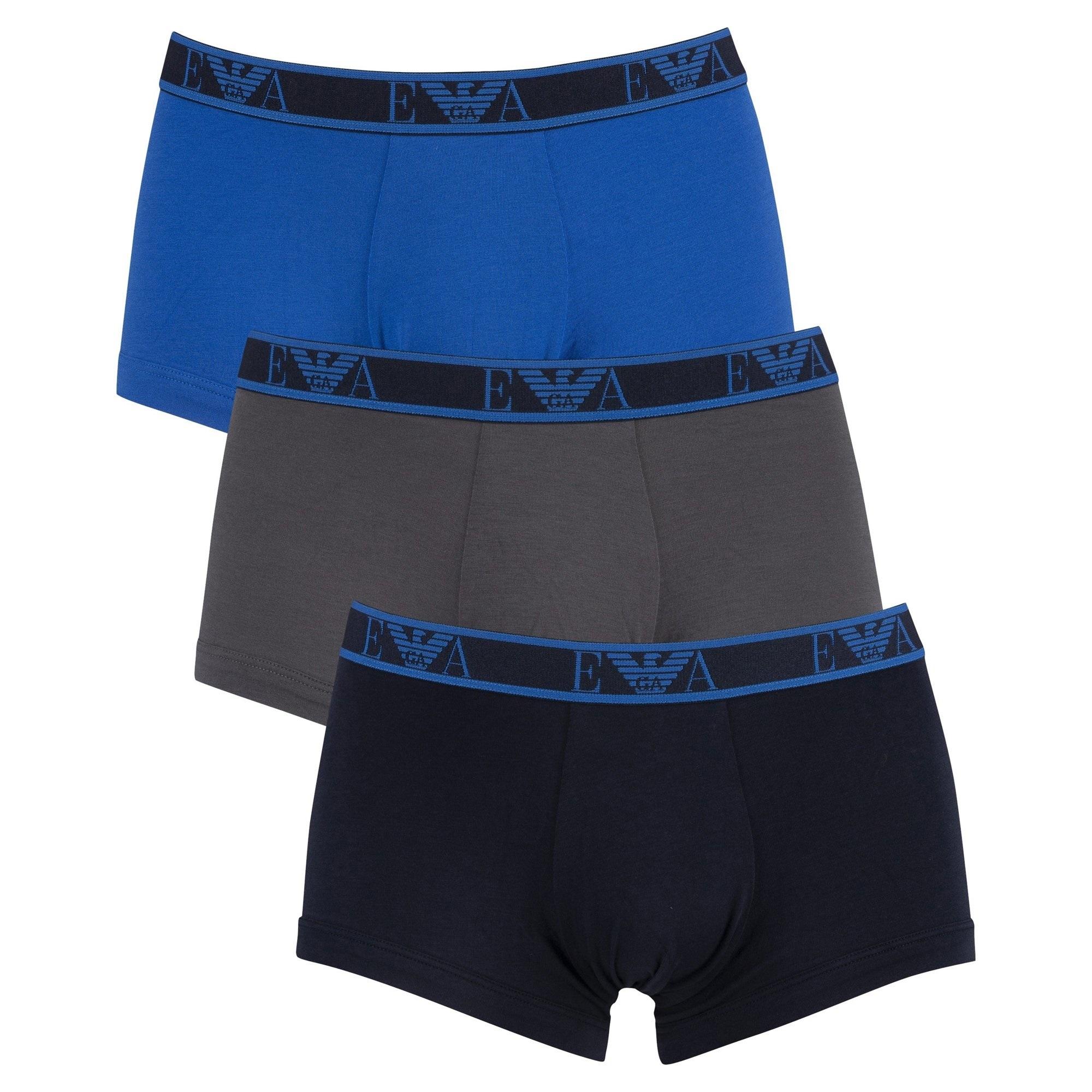 Emporio Armani Boxer 3-Pack, Effen