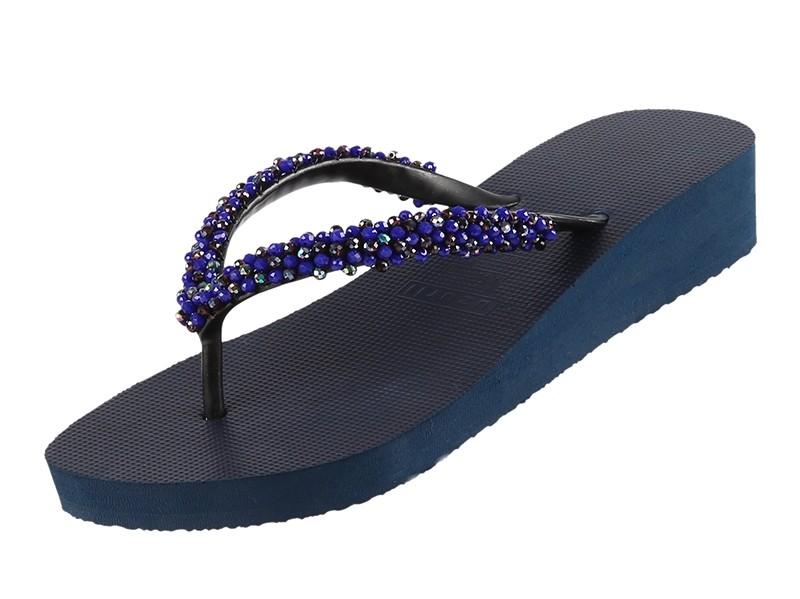 Uzurii Precious Classic Blue Mid Heel