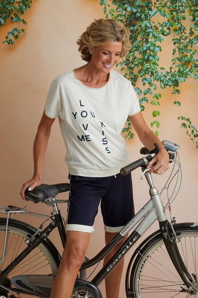 Vitamia T-shirt Love/Kiss + bermuda