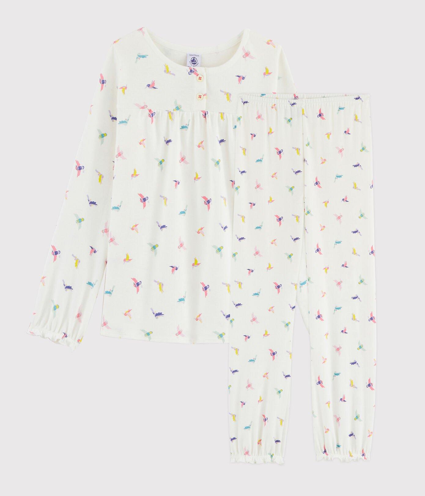 Petit Bateau Pyjama vogels