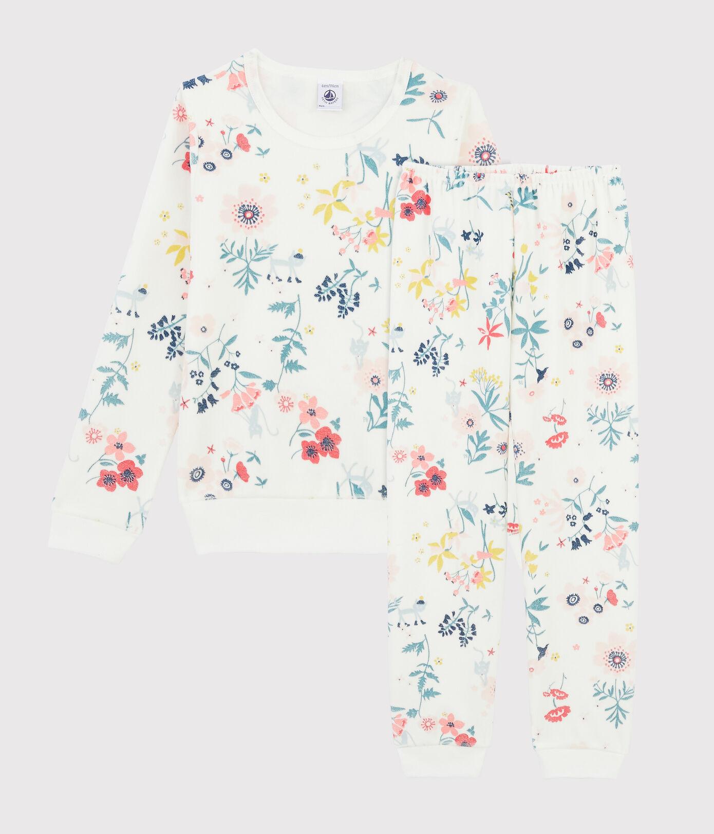 Petit Bateau Pyjama velour