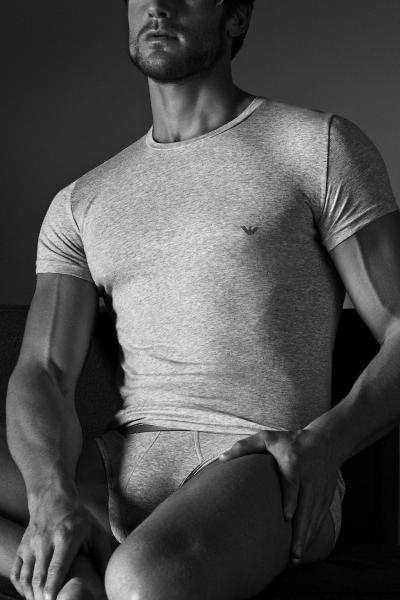 Armani T-shirt Ronde hals