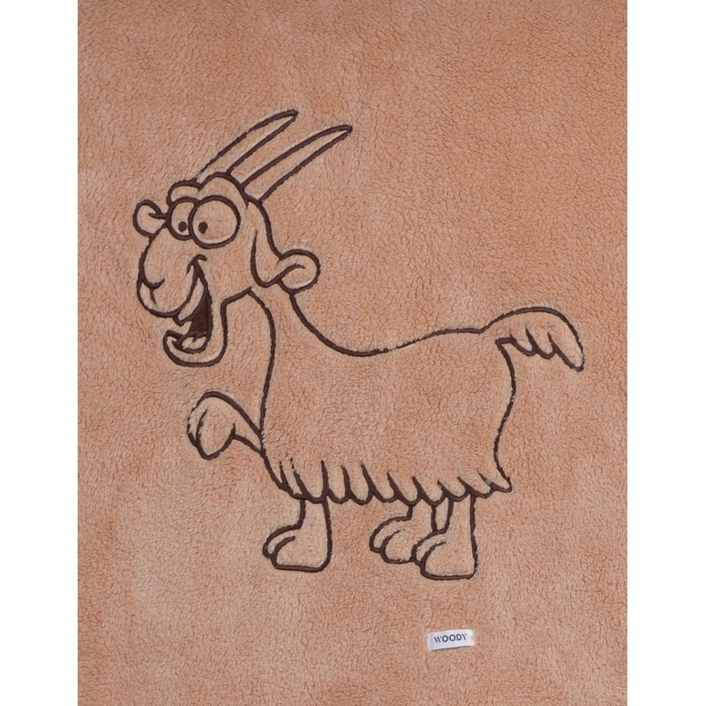 Woody Plaid, 150 x 200 cm, Thema Geit