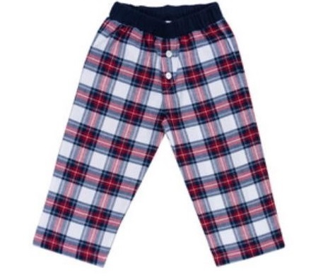 Cotolini Heren Pyjamabroek flanel ruiten