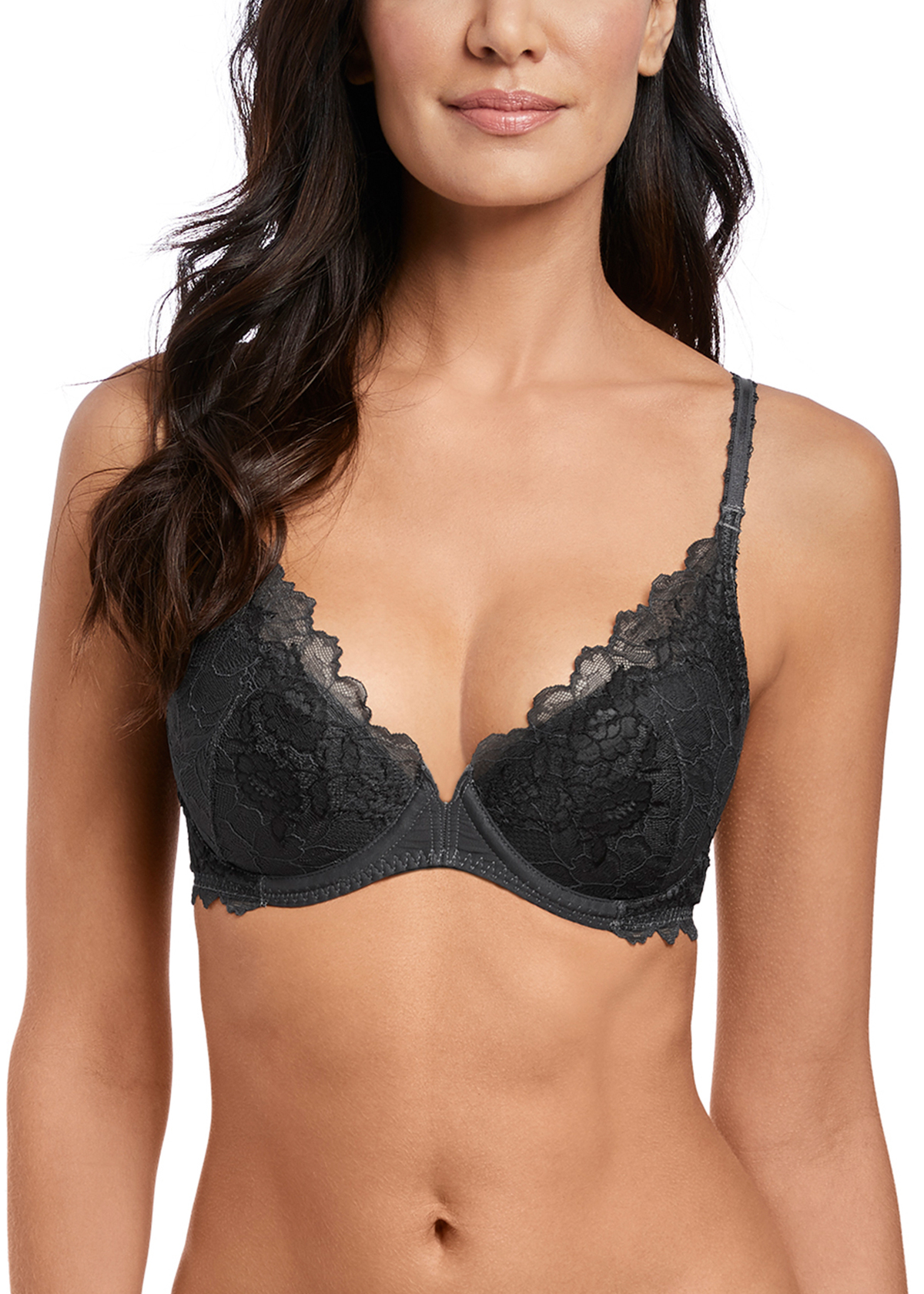 Wacoal Lace Perfection Push–Up Bh