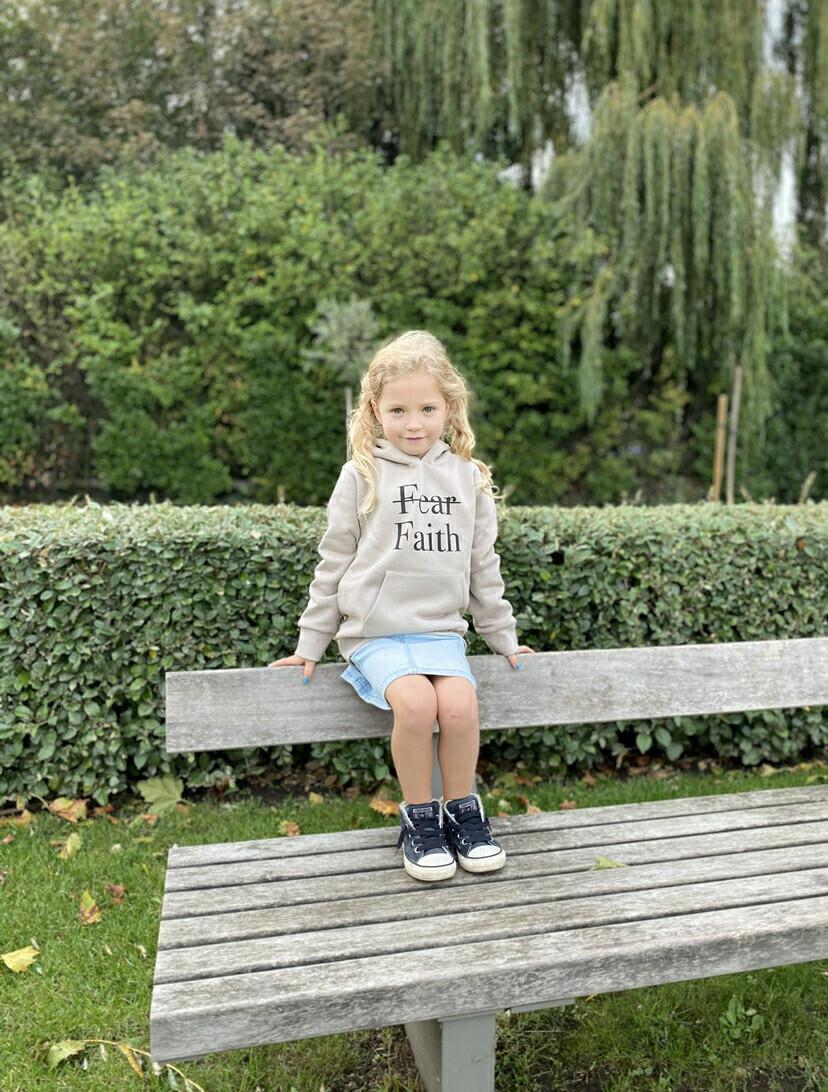 Maxelis Hoodie kind Faith