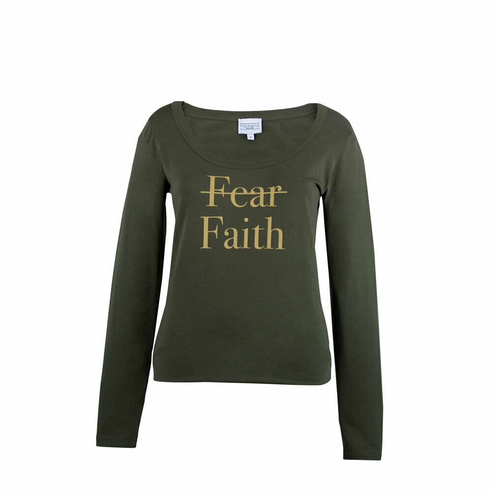 Maxelis Dames T-shirt Faith