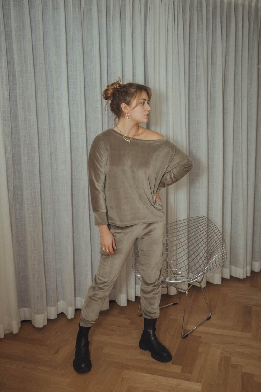 Love Sundaily Sweater + broek fluweel
