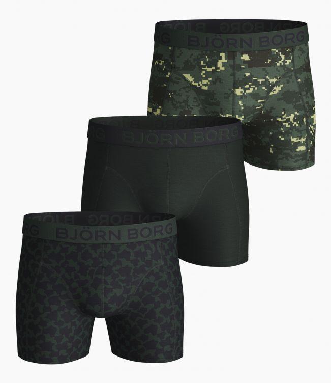 Björn Borg Boxer 3-Pack Digital woodland shorts