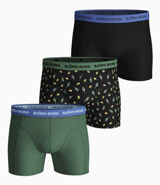 Björn Borg Boxer 3-Pack Lemonsplash shorts
